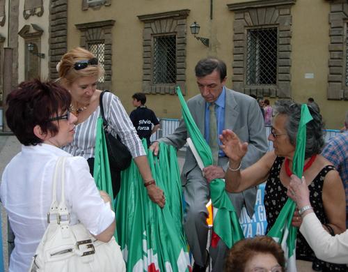 A Lucca da Berlusconi
