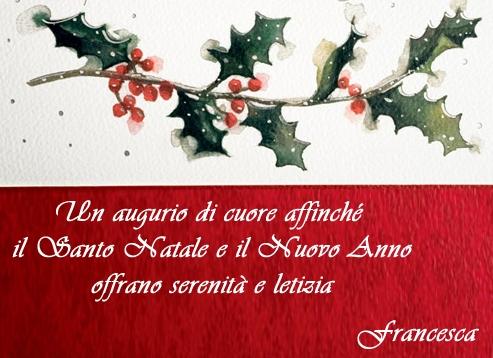 Auguri Di Buon Natale A Lei E Famiglia.Buon Natale