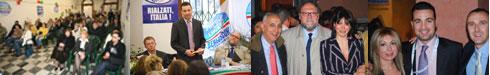 Chiusura campagna al comitato elettorale