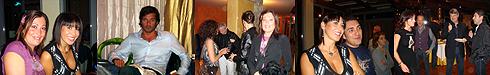 Sfilata Sergio Baldi. Le Panteraie 17 Ottobre 2008.