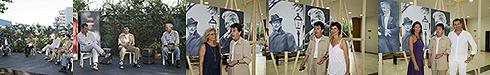 Inaugurata la mostra di Montesano. Torre del Lago, luglio 2009