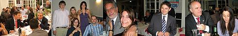 Cena con il Senatore Quagliariello. Villa Cappugi 15 maggio 2009